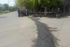 Patching Jalan Cot Mesjid 9